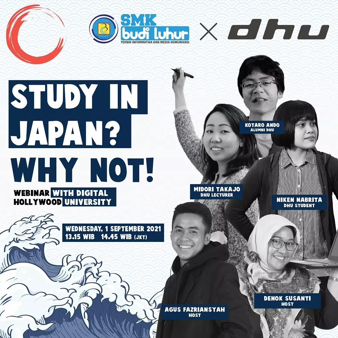 STUDY IN JAPAN? WHY NOT